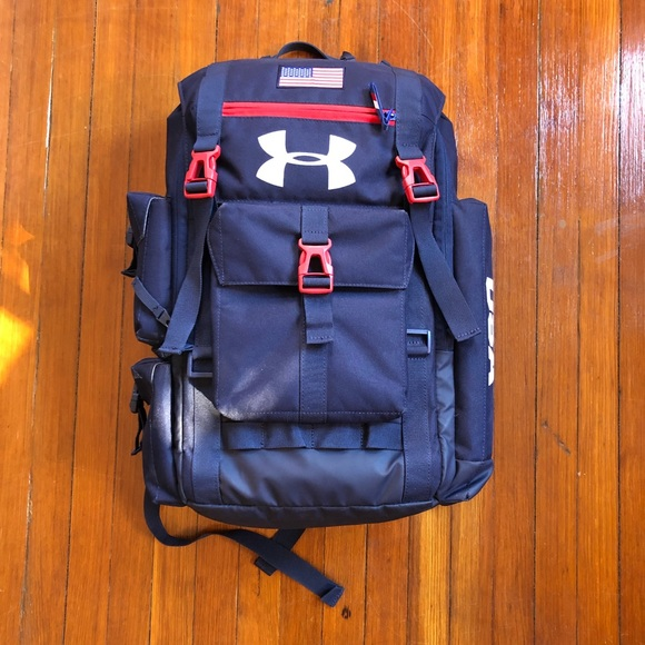 ef186f0a249 Under Armour Tram USA Olympic Backpack. M 5aac2b10a825a61de08eca37